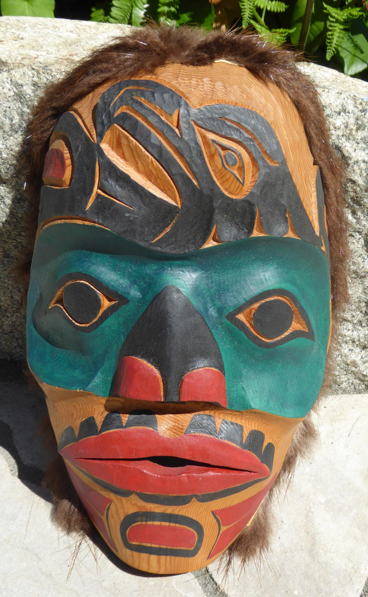 Making A Fur Mask Kesho Wazo