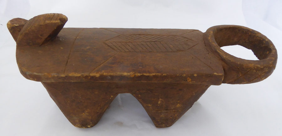 African Lobi Burkina Faso Stool ⋆ Copper Shield Tribal Art