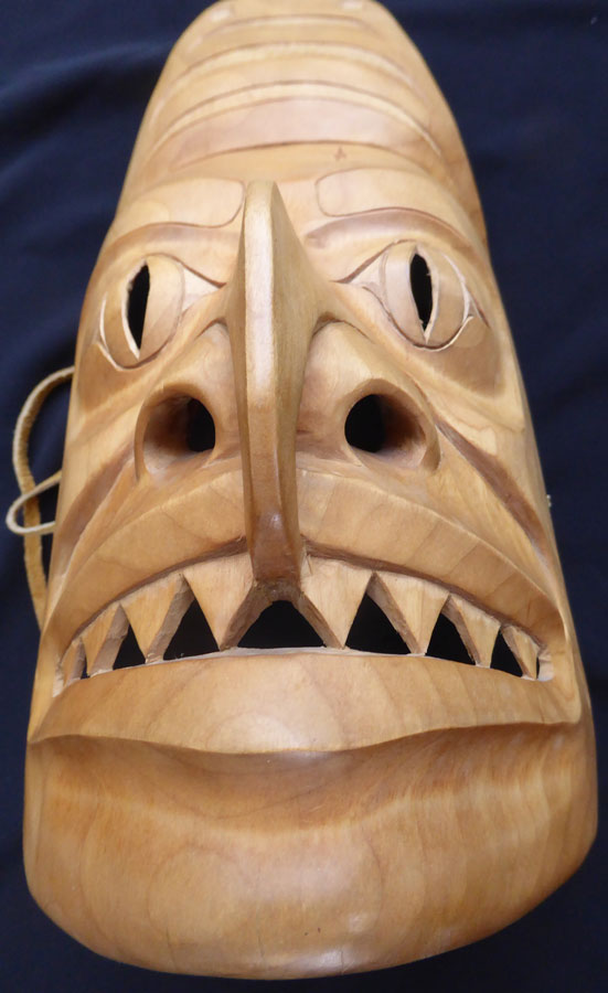 Northwest Coast First Nations Art Shark Mask Museum