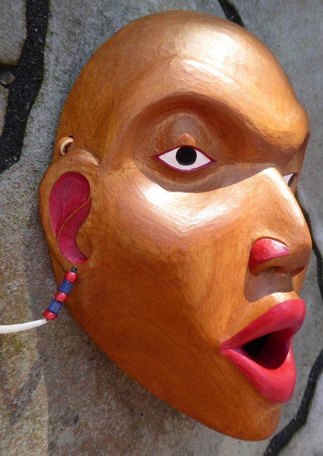 Canada Northwest Coast Museum Caliber Woman Face Mask